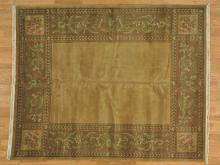 8'x10' Modern Nepali 100 Percent Wool Oriental Rug Hand Knotted