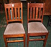 Set of Two Arts and Crafts Side Chairs