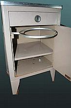Medical Cabinet with swing out Waste Basket hoop