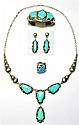 Navajo Blue Opal 4-Piece Set - Clem Nalwood