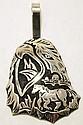 Navajo Sterling Silver Horse & Eagle Pendant - Richard Singer