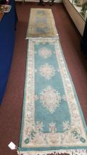 lot of to oriental runners, rugs
