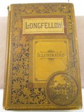 POETICAL WORKS HENRY LONGFELLOW 1880 & 83 BOOKS