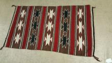 Southwest Indian or Mexican saddle blanket