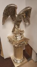 Silver & gold coated bronze eagle Giannelli