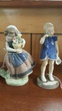Lladro 5223 and Bing & Grondahl 2246 figurines