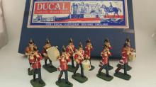 Ducal 54mm Lead Fifes & Drums marching band