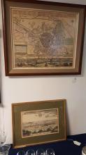 Lot of 2 historic Berlin Prints
