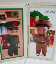 Ames Lil Phil Phillips 66 1st & 2nd edition dolls