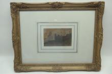19th C. Parisian Scene (School of Seurat)