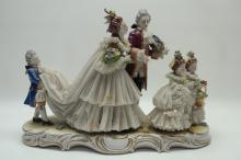 19th C. Porcelain Figural Grouping