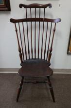 Original Wallace Nutting Signed Windsor Chair