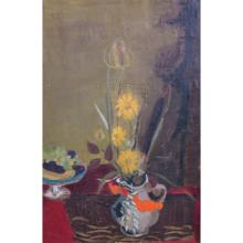 Modernism Still Life Signed Eisenlan 1952