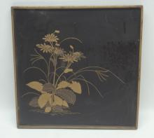 Antique Japanese Lacquer Tray