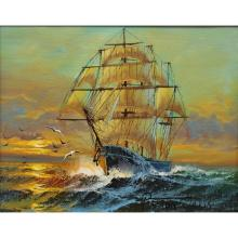 Preston Willis (American 20th C.) Clipper Ship