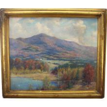 Jean Barhydt  (1869 - 1952) Autumnal Landscape
