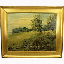 Viggo Stender (1883-1954) Landscape