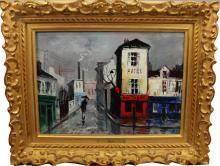 Paris Street Scene - Maggy Cazan