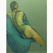 Marcia Burnett Bouton (American, 1919-2014) Pastel