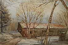 Richard Packer (1916 - 1998) Oil/Canvas