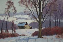 Richard Lemon '58 American Winter Landscape
