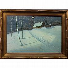 Gulbrand Sether  (1869 - 1941) W/C, Goauche