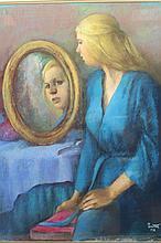 Marcia Bouton (1919-2014) Pastel