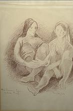 Original Artist Proof by Moses Soyer (1899-1974)