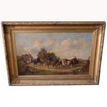 Monumental  John Pedder  (1850 - 1929) English Landscape