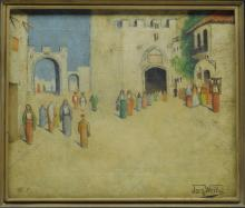 Orientalist Painting Jacques Weills