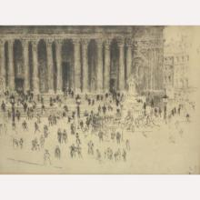Etching of Fountain