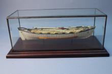 Whale Bone Model of Whale Boat