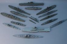 (17) Tri-Ang Minic Ship Models