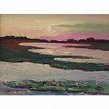 William Leon Stacks (1928 - 1991)Lavender & Light