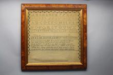 American Antique Sampler Dated 1839