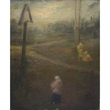 19th Century Landscape with Figures