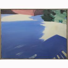 Eric Aho  (born 1966) Oil/Canvas