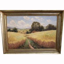 Lorenz Mollendorf  (20th century) Landscape
