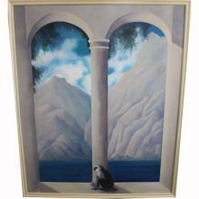 Jane Richardson Mack '97 Large Oil/Canvas Mural