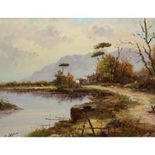 Bianca Ciappa  (20th C) Italian Landscape