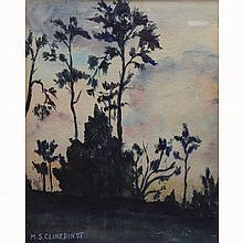 May Clinedinst  (1887 - 1960) Florida Marsh