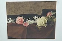 Stow Wengenroth (1906-1977) Still Life Watercolor