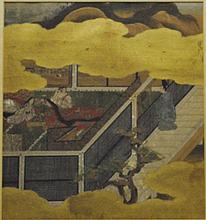 Antique 17th C. Tosa Tokngawa Japanese Painting