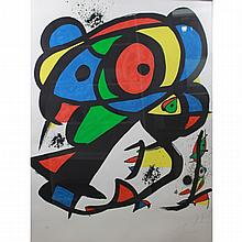 Joan Miro  (1893 - 1983) AP Lithograph