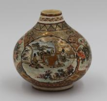 Satsuma Snuff Bottle (as-is)