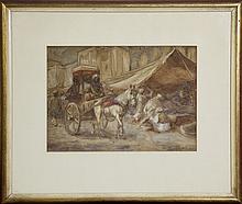 INGLIS SHELDON-WILLIAMS - Untitled - In the Bazaar