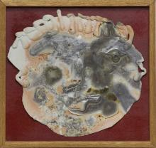 JACK SURES - Untitled - Ceramic Plaque