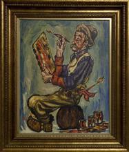 SUSAN OLAH - Untitled - The Painter