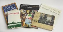 FIVE BOOKS OF CANADIAN ART HISTORY