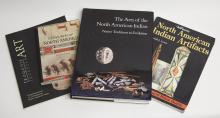 FOUR BOOKS OF NORTH AMERICAN NATIVE ART
